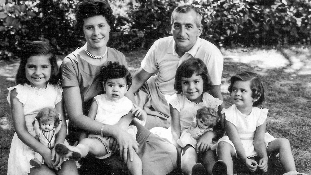 La familia Oesterheld